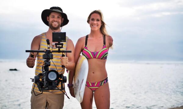 Among Lieber's next projects is a movie about Bethany Hamilton. Photo courtesy Aaron Lieber.