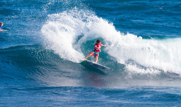 Finalist Griffin Colapinto (USA) qualified for the World Junior  Championships in Cascais, Portugal - earning three Finals appearances and winning the Vans Open Pro Junior.