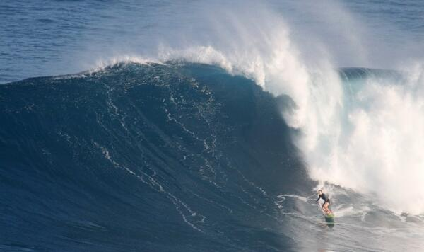 Paige Alms at Jaws