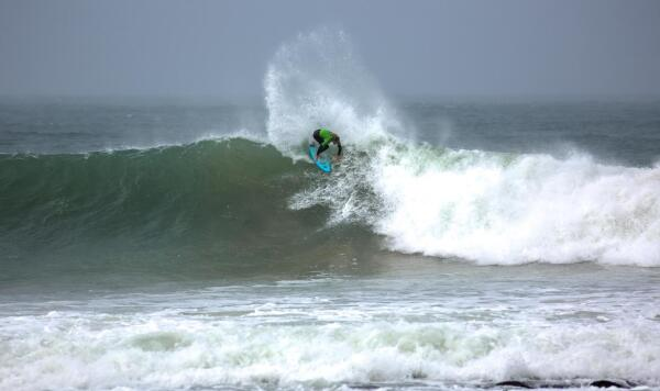 Trials winner in J-Bay. Photo: Van Gysen