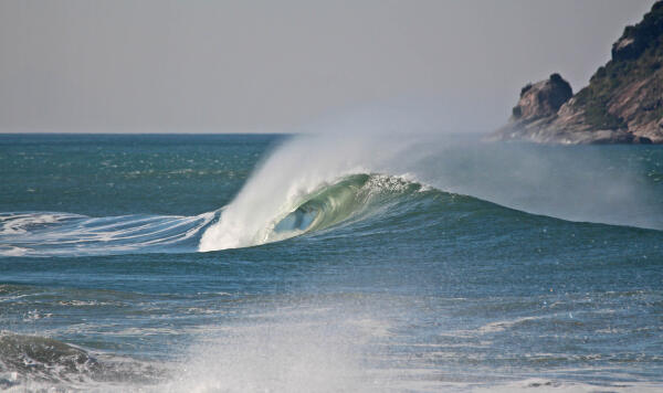 Grumari, several days before the waiting period for the 2016 Oi Rio Pro.