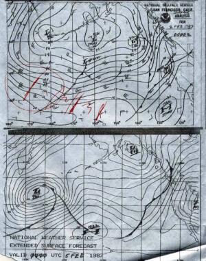 NOAA Old Forecast Chart