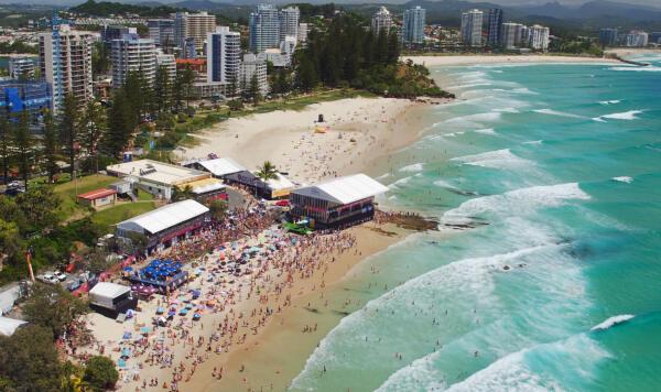 Drone Shot Gold Coast
