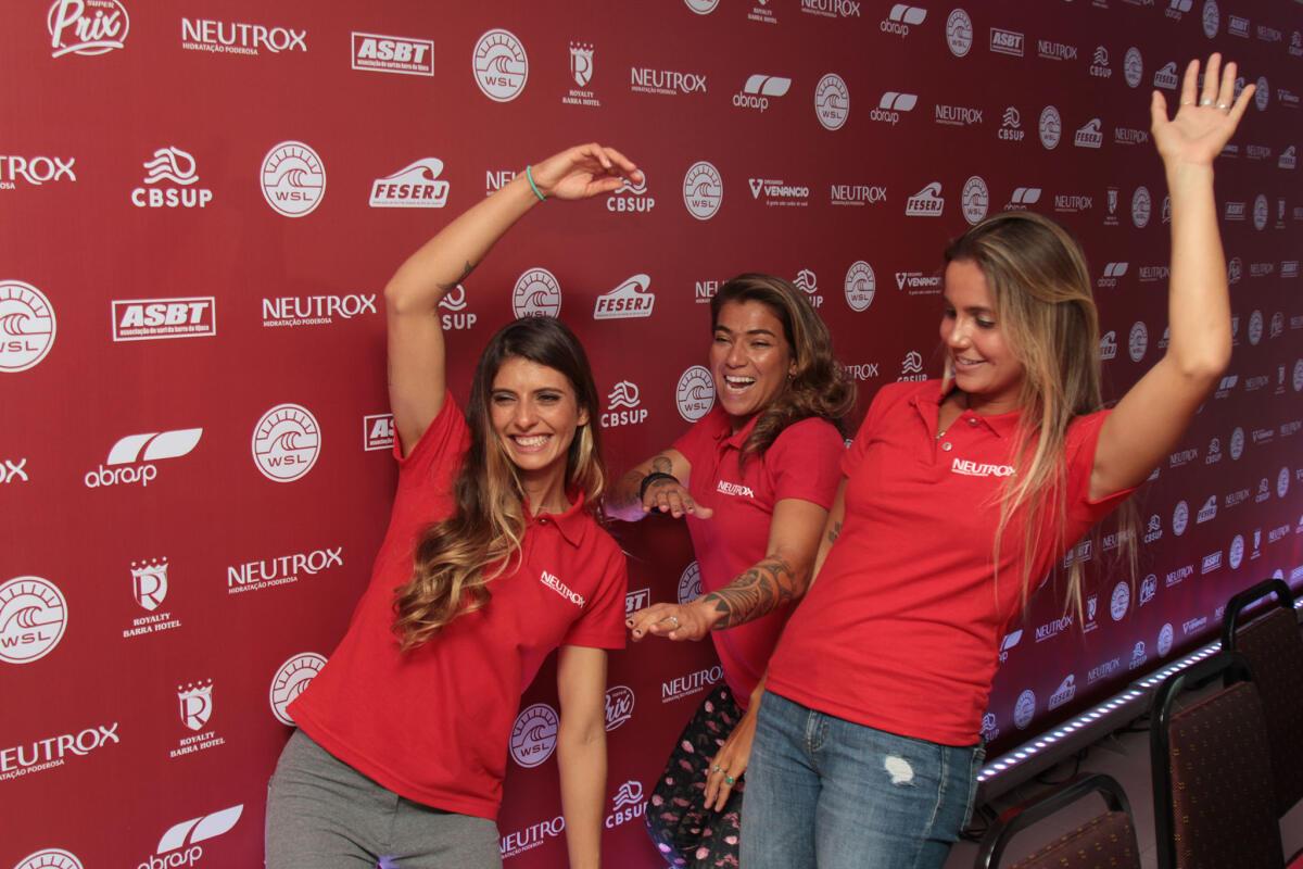 Nicole, Silvana and Chloe