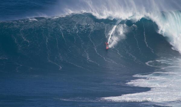 Shane Dorian at Jaws