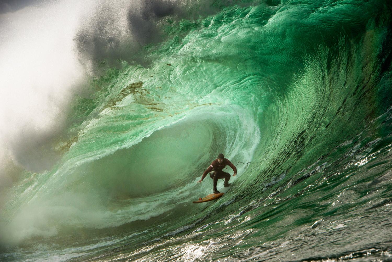 Tom Butler big wave surfing award