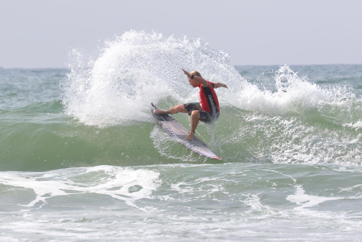 Jackson Baker Takes Win at Yumeya Surfing Games Tahara Pro supported by Blue Eco System