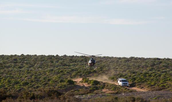 VFABM Africa heli - Specker