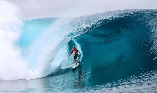Kelly Slater, RD 4,  2014 Billabong Pro Tahiti