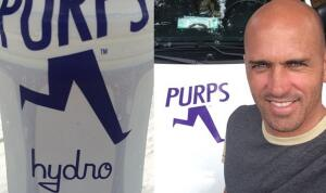 Kelly Slater doesn't drink just any energy drink, his is all-natural.