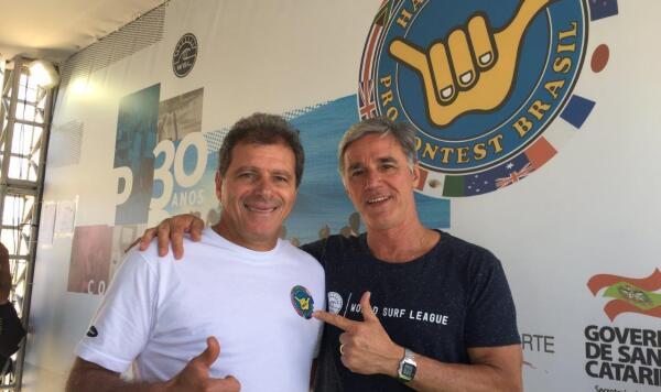 Flavio Boabaid and Xandi Fontes - Hang Loose Pro Contest 30 Anos
