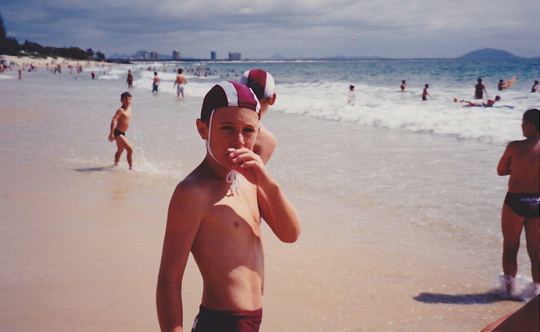 Big wave surfer Mark Visser's boyhood days on the Sunshine Coast.