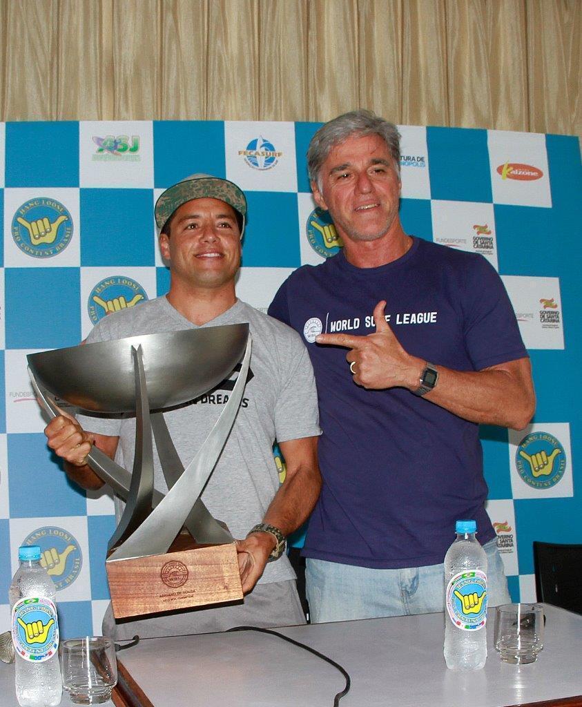 Adriano de Souza and Xande Fontes - Hang Loose Pro Contest 30 Anos
