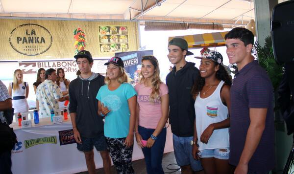 Billabong Pro Junior San Bartolo - Press Conference