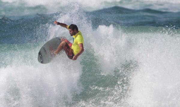 Joey Haddon won the first Juraki Surf Culture event in 2015.