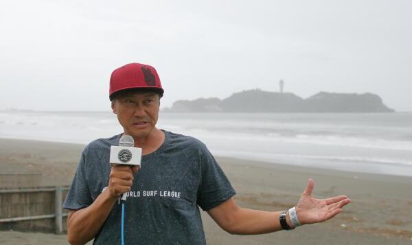 Tosh Omi , WSL Japan GM