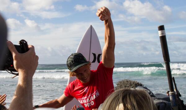 John John Florence wins the WSL Hawaiian Pro