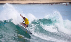 Sunny Garcia displays power surfing at its finest.