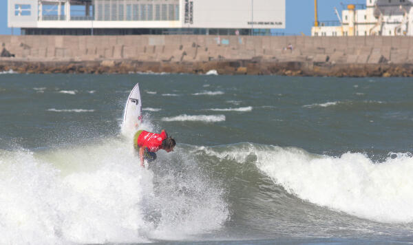 Nic Hdez finished runner-up at the Rip Curl Pro Argentina