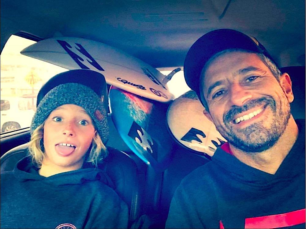 Ryan Kainalo tem confiança no seu pai para conduzir sua carreira