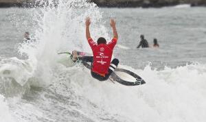 Alonso Correa at the Rip Curl Pro Junio in Mar del Plata.