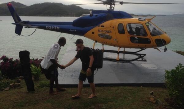 Chase lands at Wadigi.