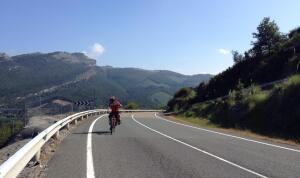 Coge3 Oscar Garcia biking