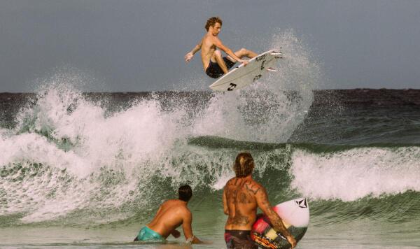 QS surfer Taylor Clark.