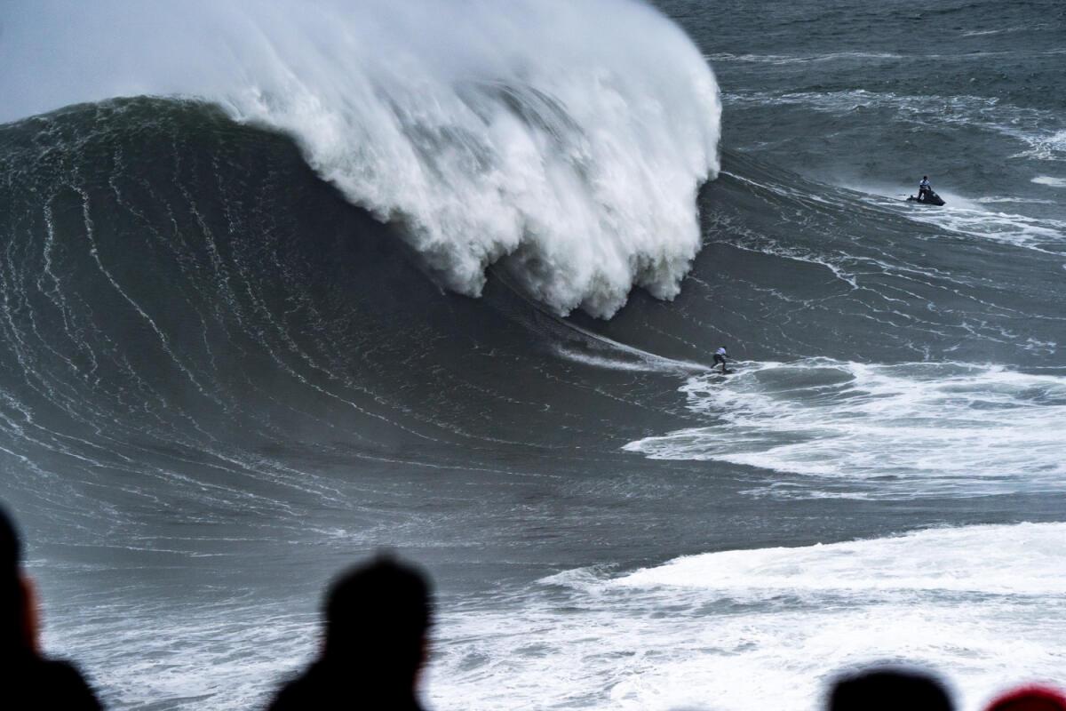 2020 Women's Biggest Wave Entry: Maya Gabeira at Nazaré, 5
