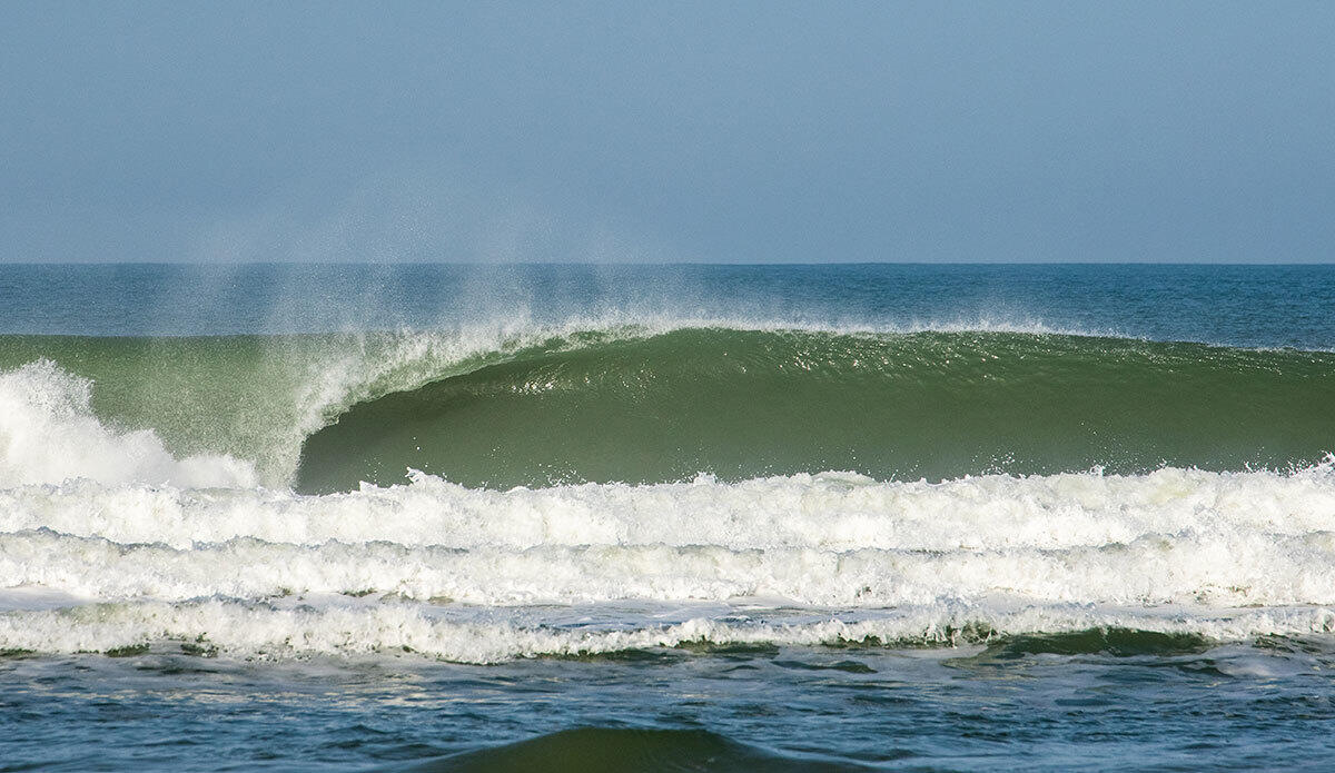 A dreamy left somewhere in South Landes.