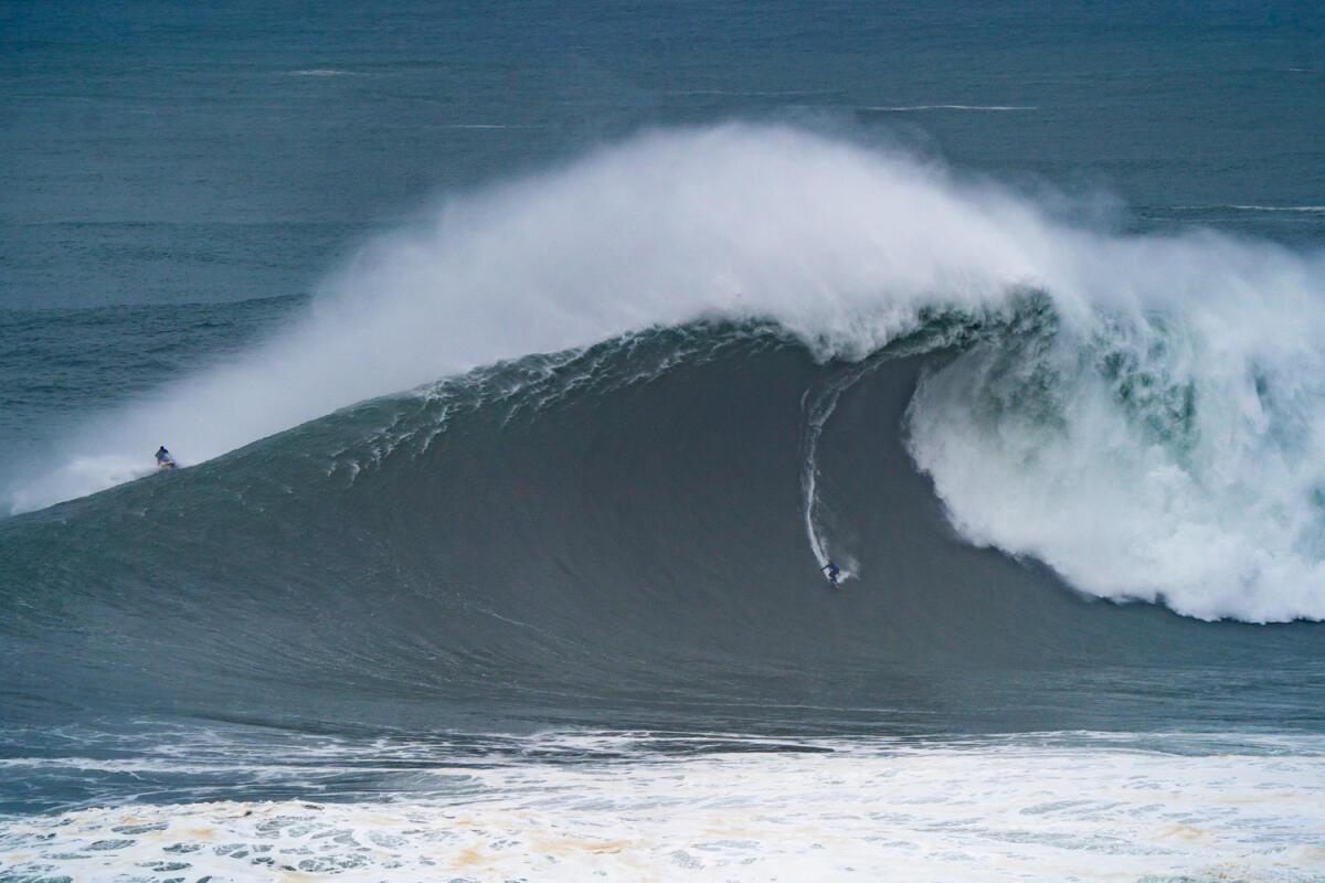 2020 XXL Biggest Wave Entry: Kai Lenny at Nazaré 1
