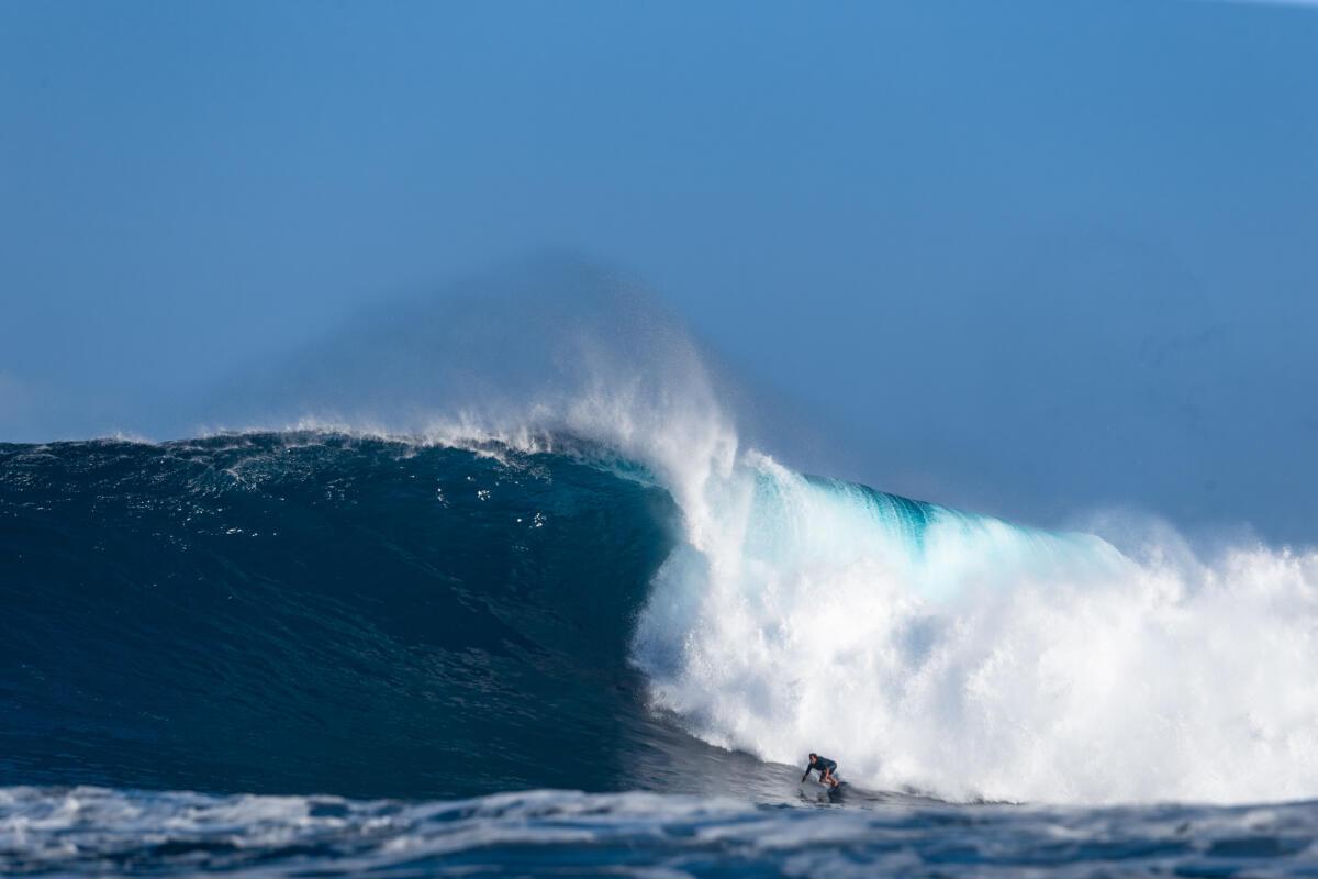 2020 Biggest Paddle Entry: Kai Lenny at Jaws 1