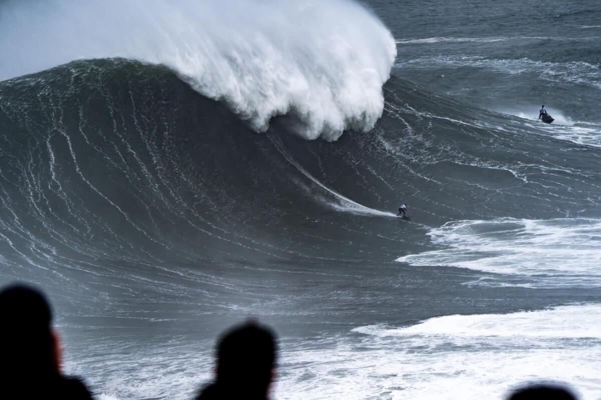 2020 Women's Biggest Wave Entry: Maya Gabeira at Nazaré 4