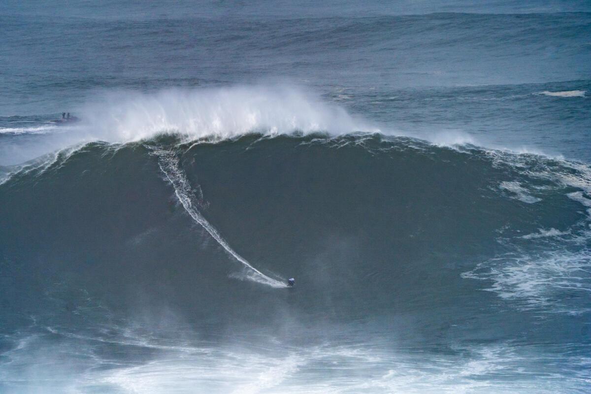 2020 cbdMD Men's XXL Biggest Wave Nominee:Sebastian Steudtner at Nazaré 1