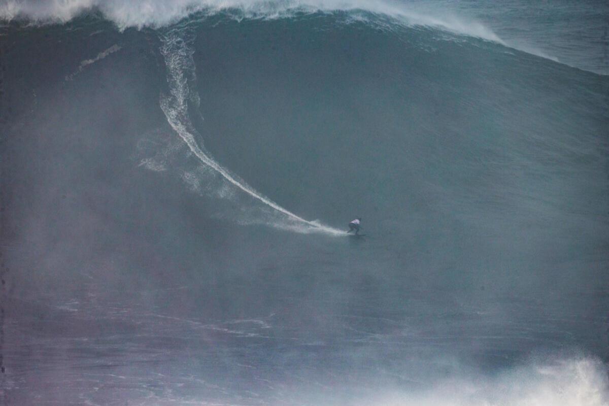 2020 cbdMD Men's XXL Biggest Wave Nominee: Sebastian Steudtner at Nazaré 3