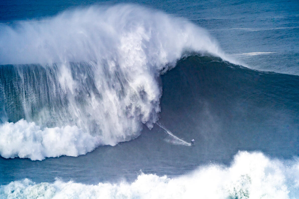 2020 Women's Biggest Wave Entry: Maya Gabeira at Nazaré 6