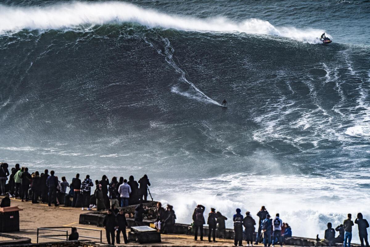2020 XXL Biggest Wave Entry: Ian Walsh at Nazaré 2