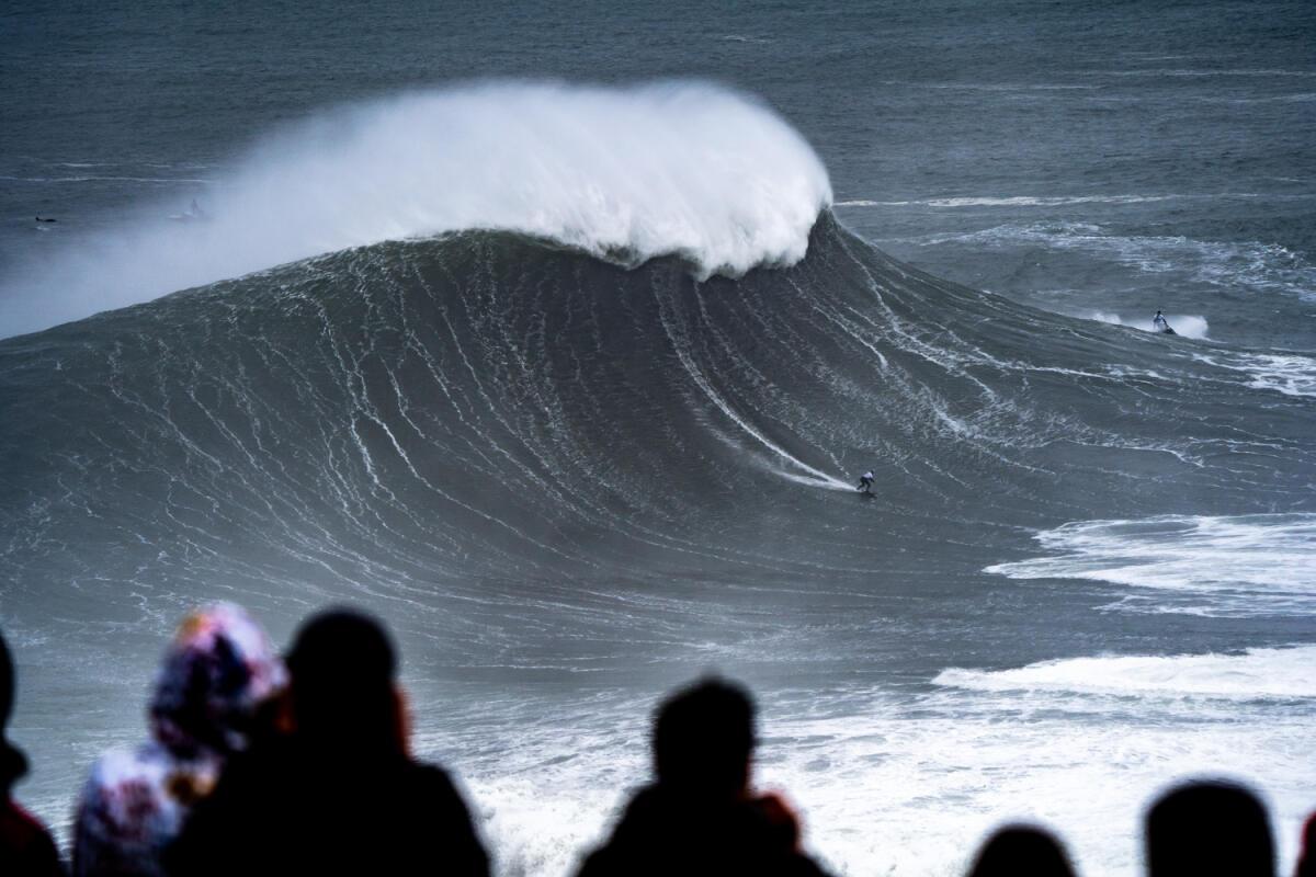 2020 Women's Biggest Wave Entry: Maya Gabeira at Nazaré 2