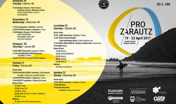 Program - Pro Zarautz 2017