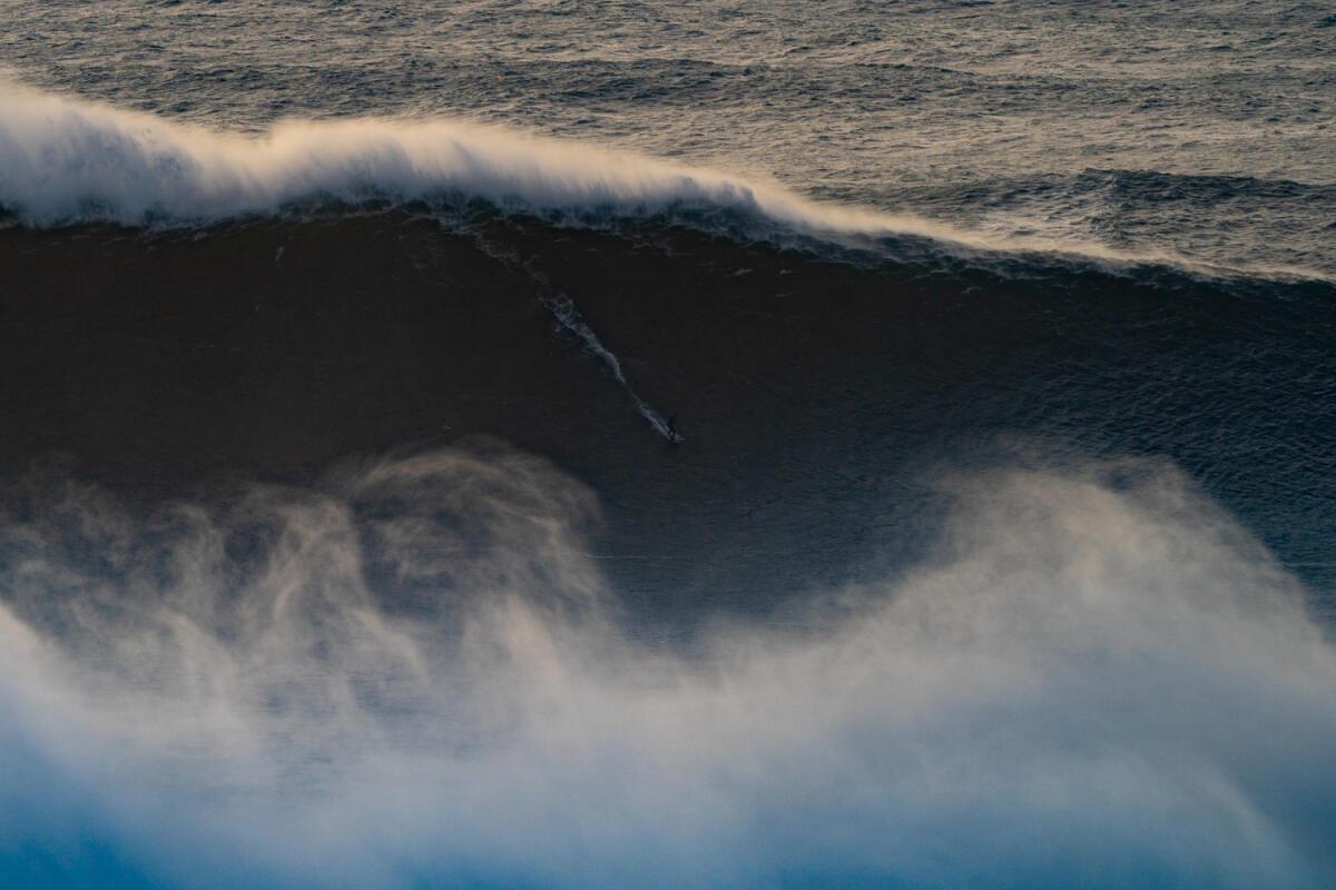 2020 XXL Biggest Wave Entry: Lucas Chianca at Nazaré 2