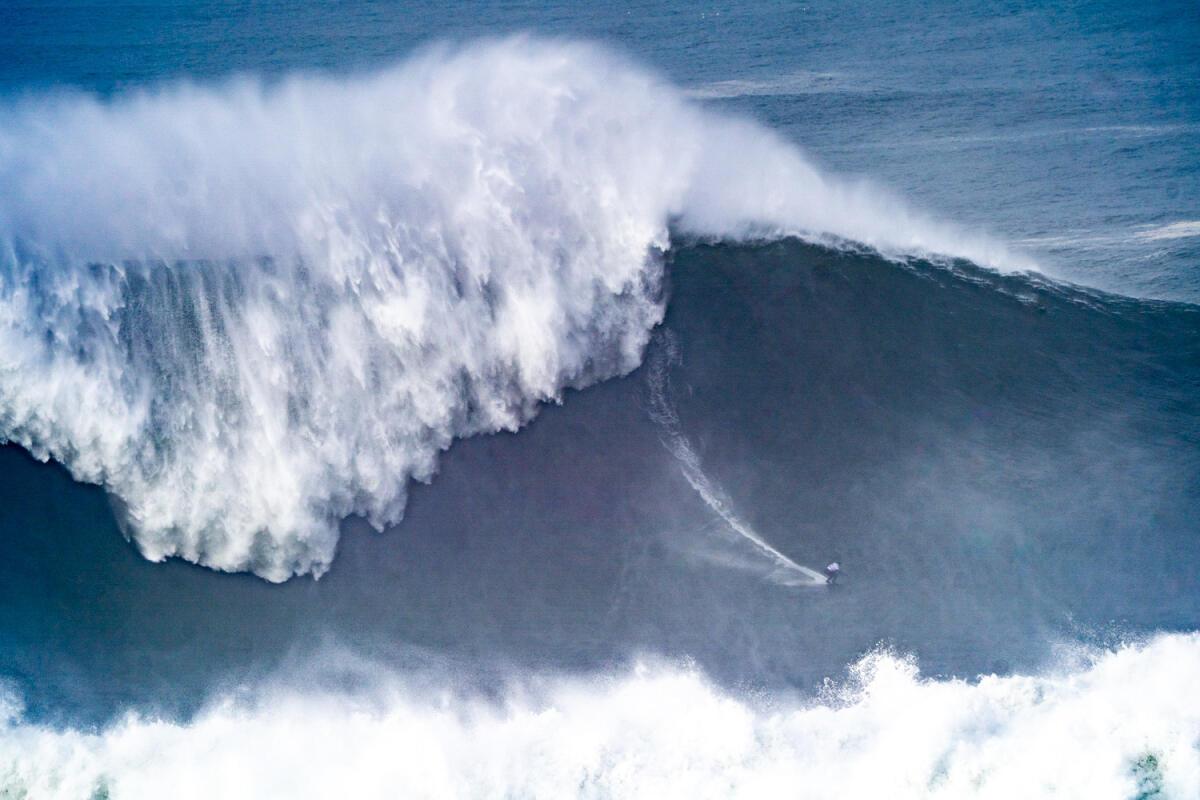2020 Women's Biggest Wave Entry: Maya Gabeira at Nazaré 3