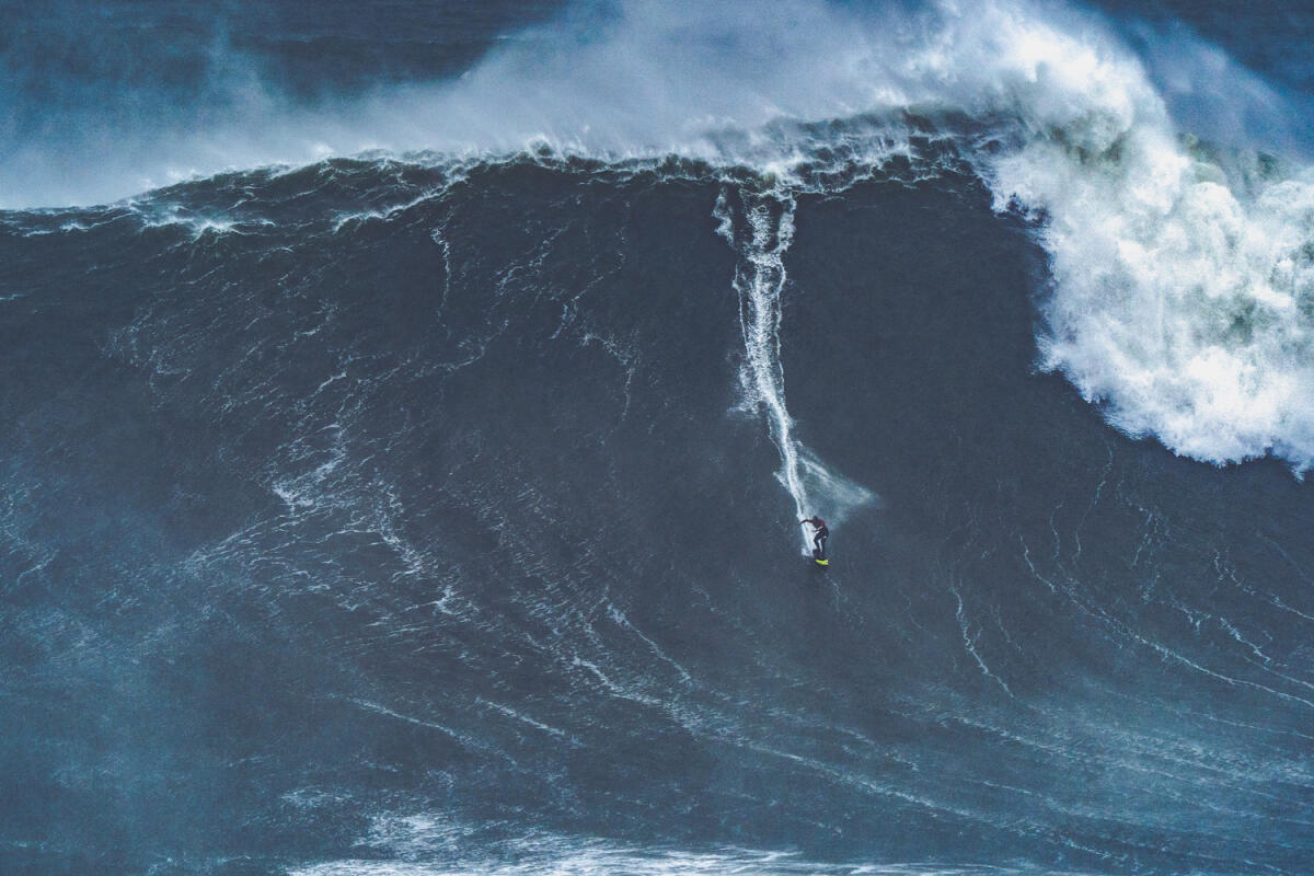 2020 XXL Biggest Wave Entry: Caio Vaz at Nazaré 1