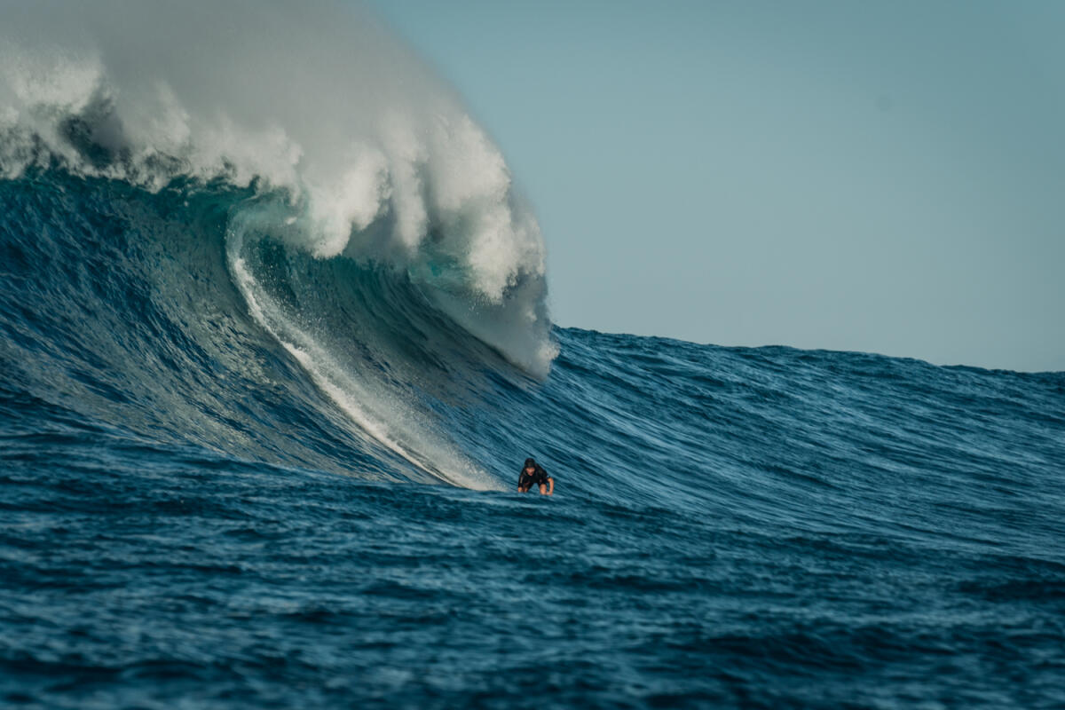 2020 Women's Paddle Entry: Raquel Heckert at Jaws 3