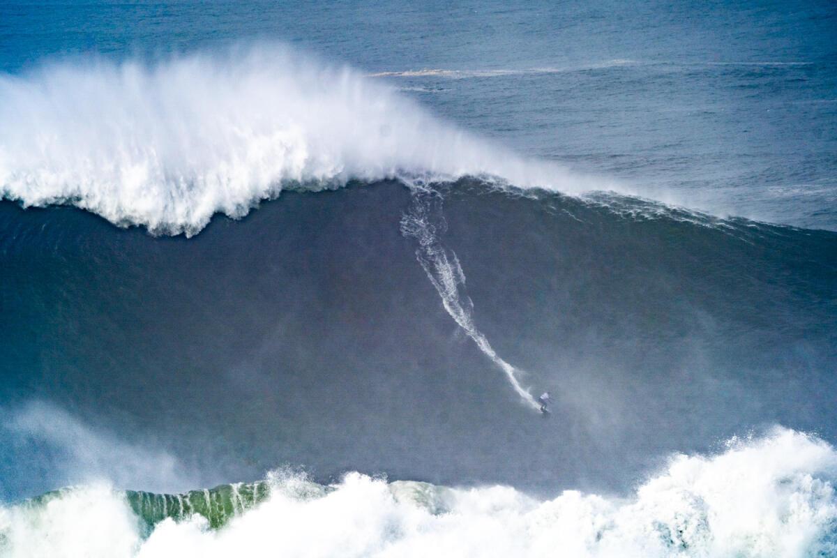 2020 Women's Biggest Wave Entry: Maya Gabeira at Nazaré 1